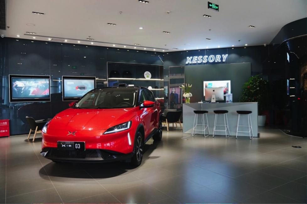 3、位于上海五角场合生汇商场的小鹏汽车上海首家体验中心.png